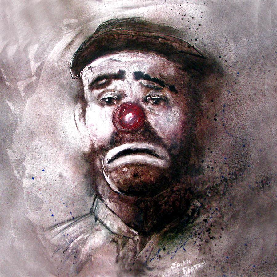 Emmit Kelly Clown by Jackie Flaten