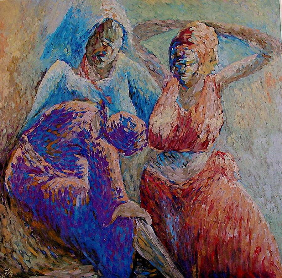 Women Print - Emotions by Ephraim Urevbu