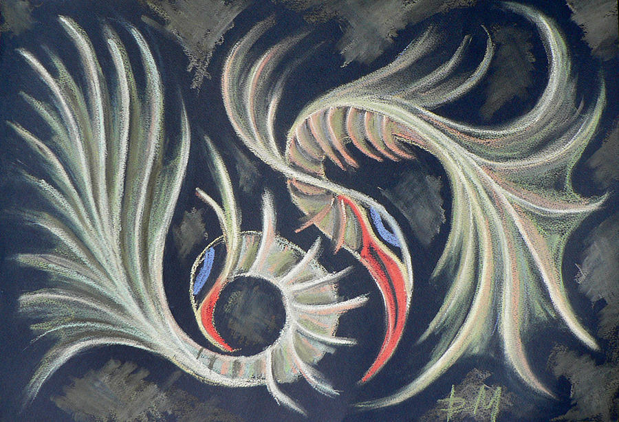 Painting Painting - emotions II by Denitsa Mihaylova