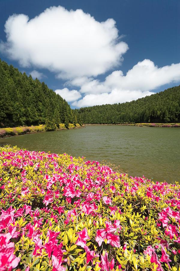Portugal Photograph - Empadadas Lakes II by Gaspar Avila