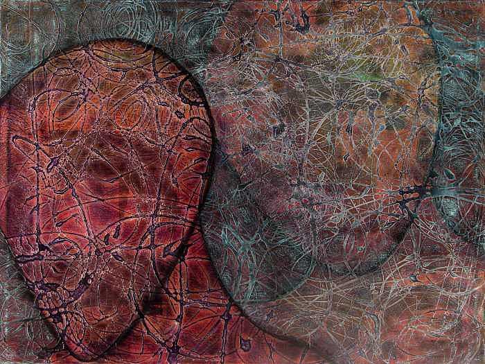 Abstract Painting - Empathy by John Edward Marin
