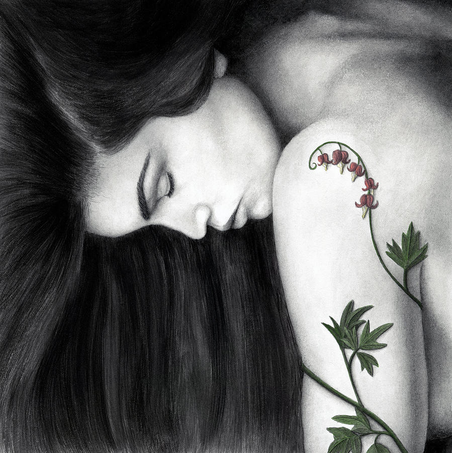 Woman Painting - Empathy by Pat Erickson