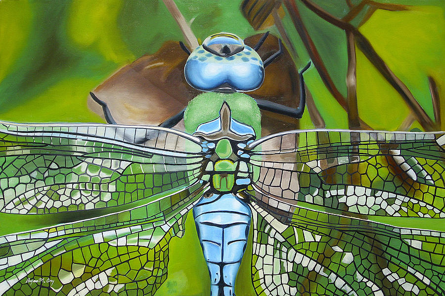 Dragonfly Painting - Emperor Dragonfly by Bryan Ory