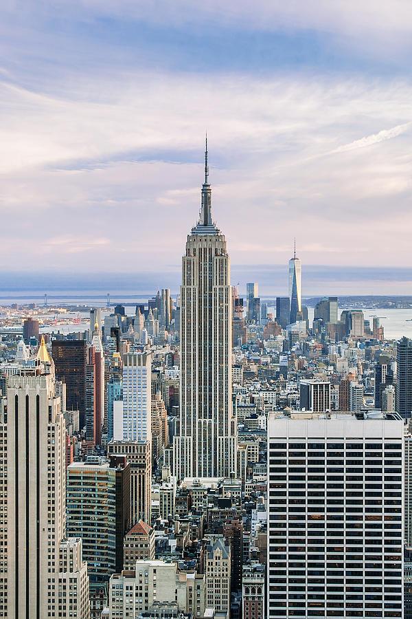 Empire State Building Photograph - Emperors Castle by Az Jackson