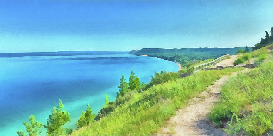 Empire Bluffs  by Digital Photographic Arts