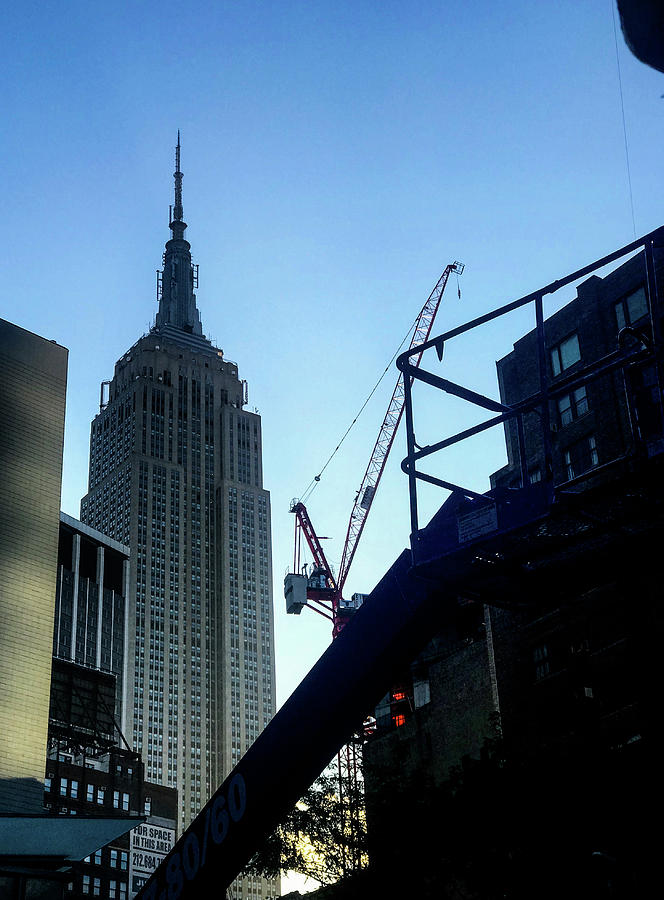 Nyc Photograph - Empire by Joseph Yarbrough