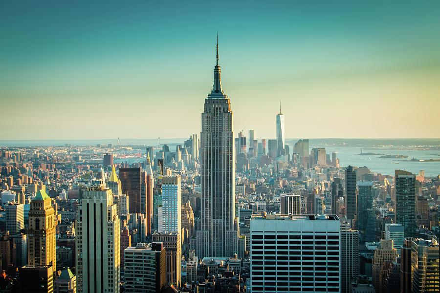 New York City Photograph - Empire Skies by Sara Frank