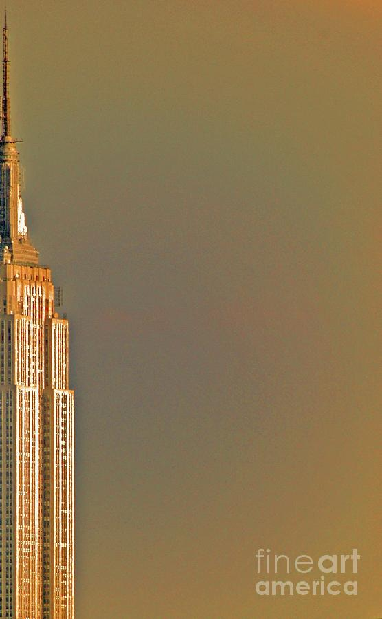 New York Photograph - Empire Sky by Tracy Long