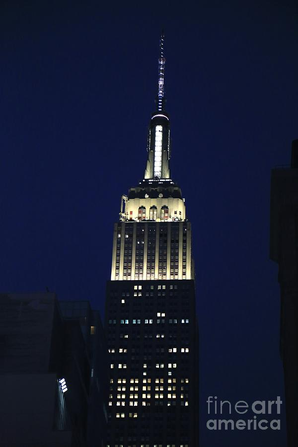 Destination Photograph - Empire State Building New York City by Douglas Sacha