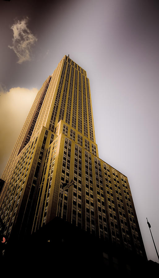 Empire State Building Photograph - Empire State Building by Patrick  Flynn