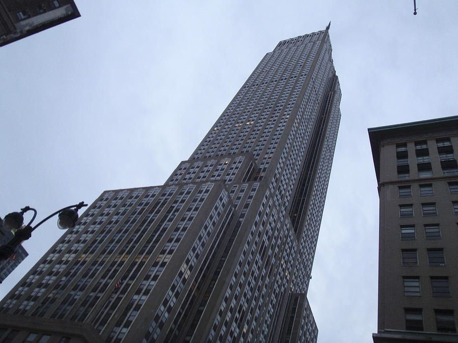 Sky Photograph - Empire State No 1 by Dan Andersson