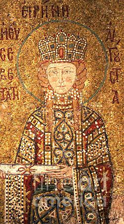 Mosaic Photograph - Empress Irene Istanbul by K Randall Wilcox