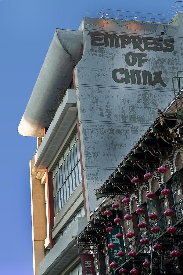 San Francisco Photograph - Empress Of China by Joel P Black