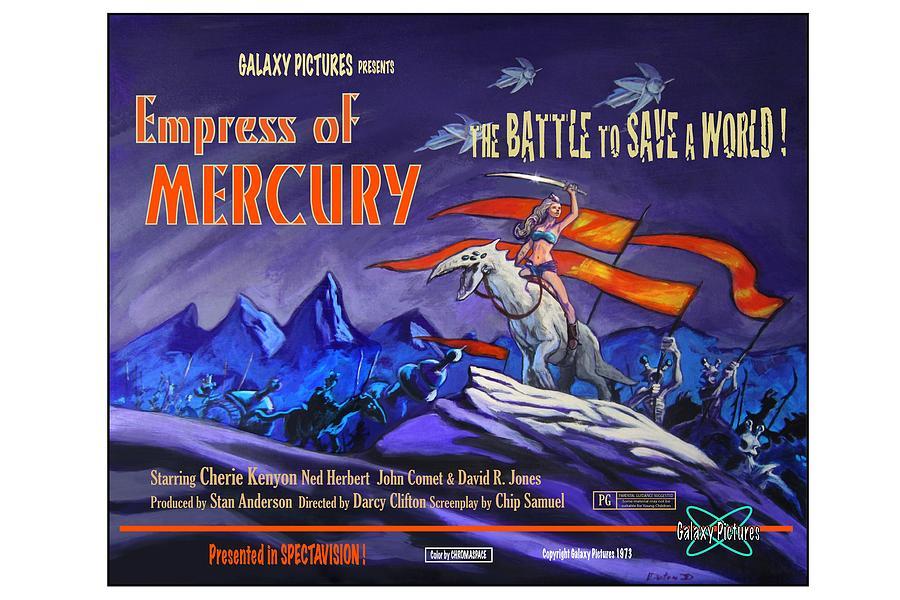 Empress Of Mercury 2 Painting by Jeff Doten
