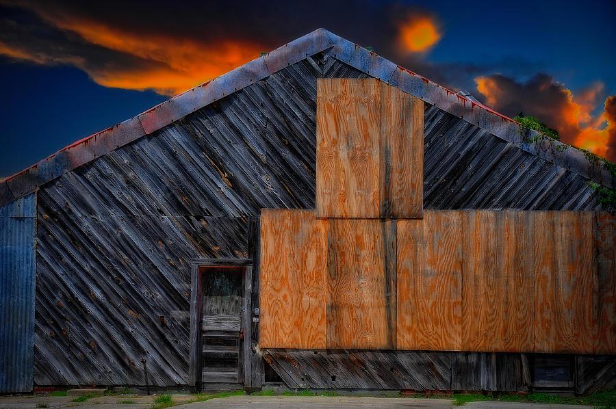 Empty Barn by Harry Spitz