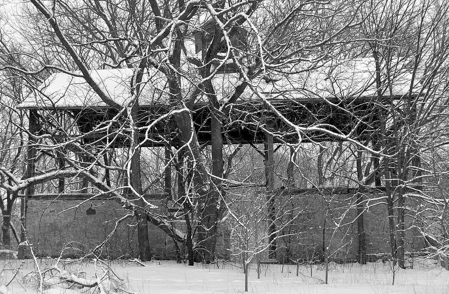 Barn Photograph - Empty Barn by Melanie Guest