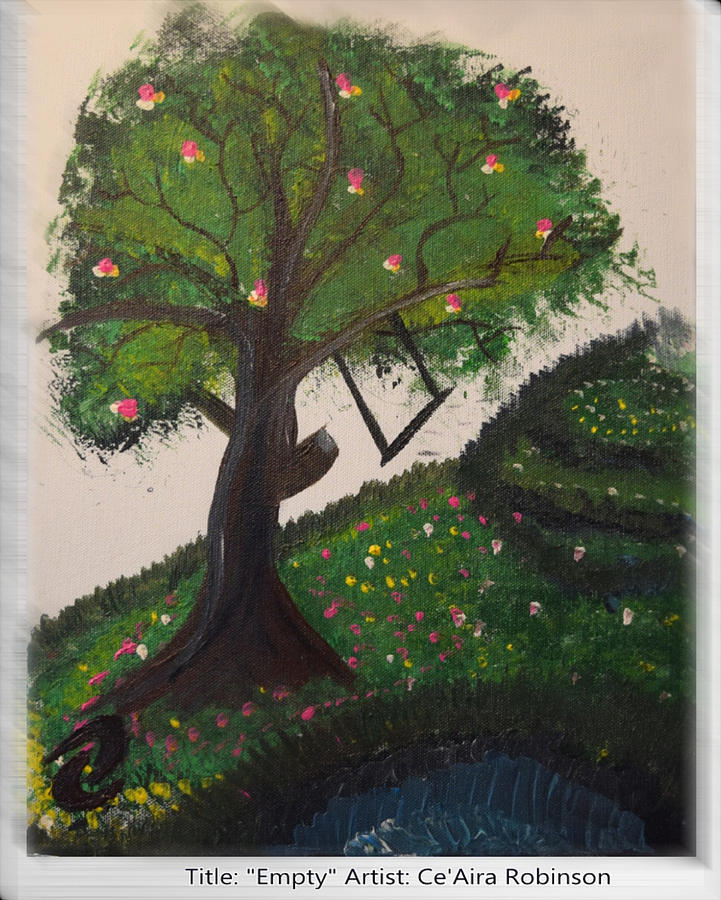 Tree Painting - Empty by Ceaira Robinson