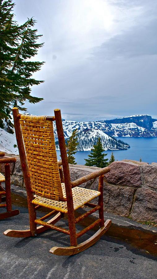 Empty Chair Photograph - Empty Chair by Dorota Nowak
