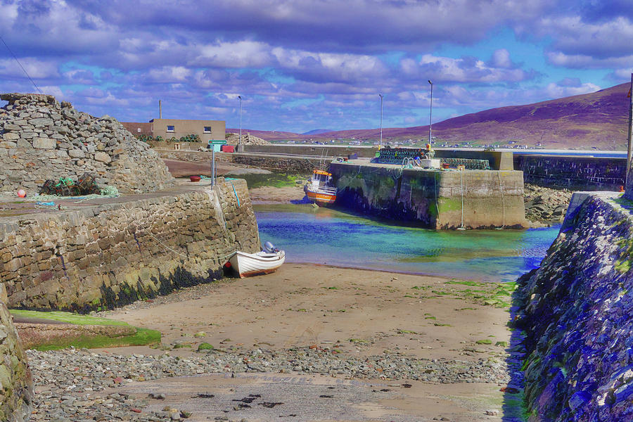 Beauty In Nature Photograph - Empty Harbour by Paul Mc Namara