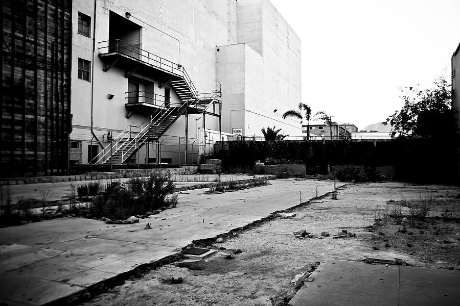 Empty Lot In Hollywood Photograph