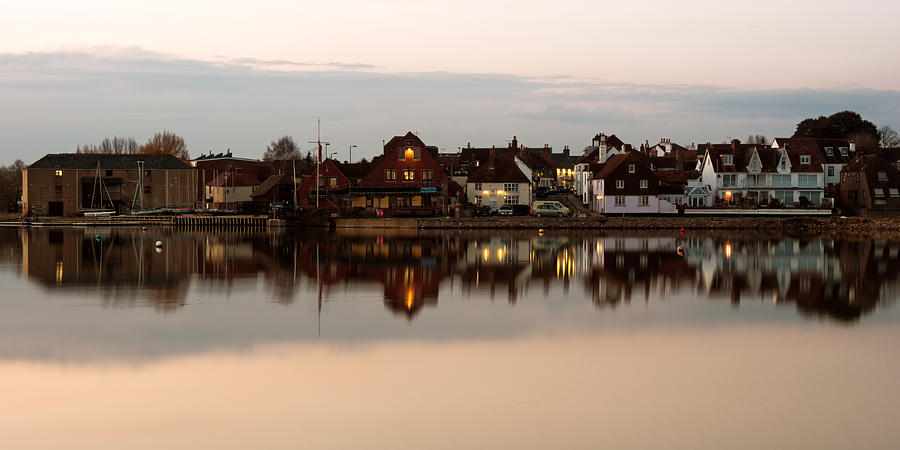 Emsworth Photograph - Emsworth At Dusk by Trevor Wintle