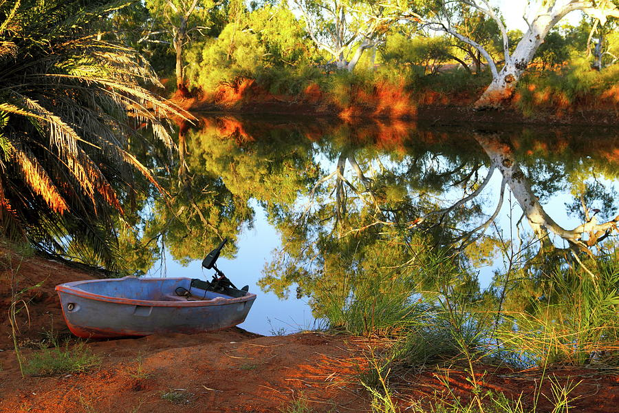 Western Australia Photograph - Emu Creek Station 2am-111427 by Andrew McInnes
