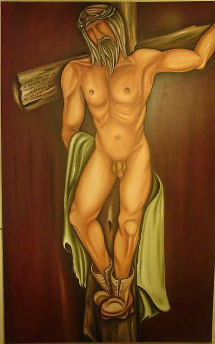 En El Nombre Del Padre Painting by Jorge Diaz