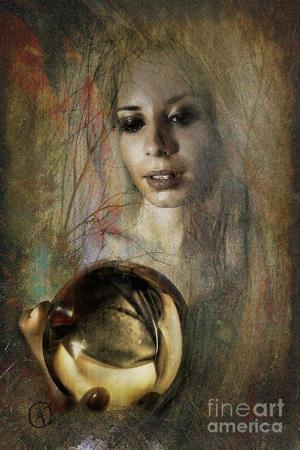Woman Photograph - En la bola de cristal by Antonio De Irun