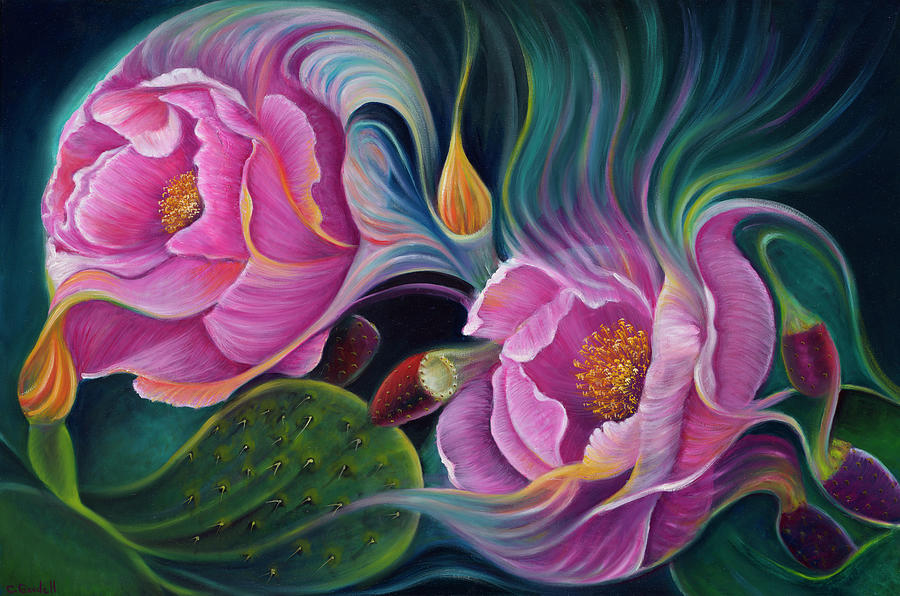 Enchanted Blossoms by Claudia Goodell