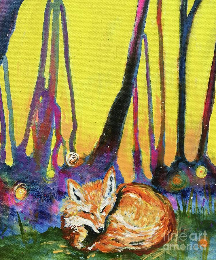 Enchanted Fox by Kim Heil