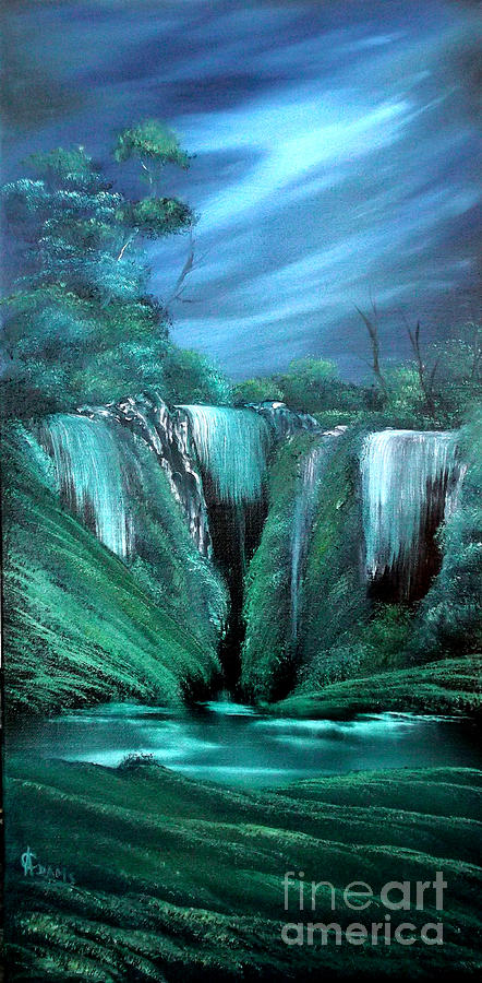 Landscape Painting - Enchanted Hideaway by Cynthia Adams
