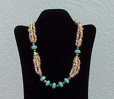 Freshwater Pearls Jewelry - Enchanted Turquoise by Eleanor Love