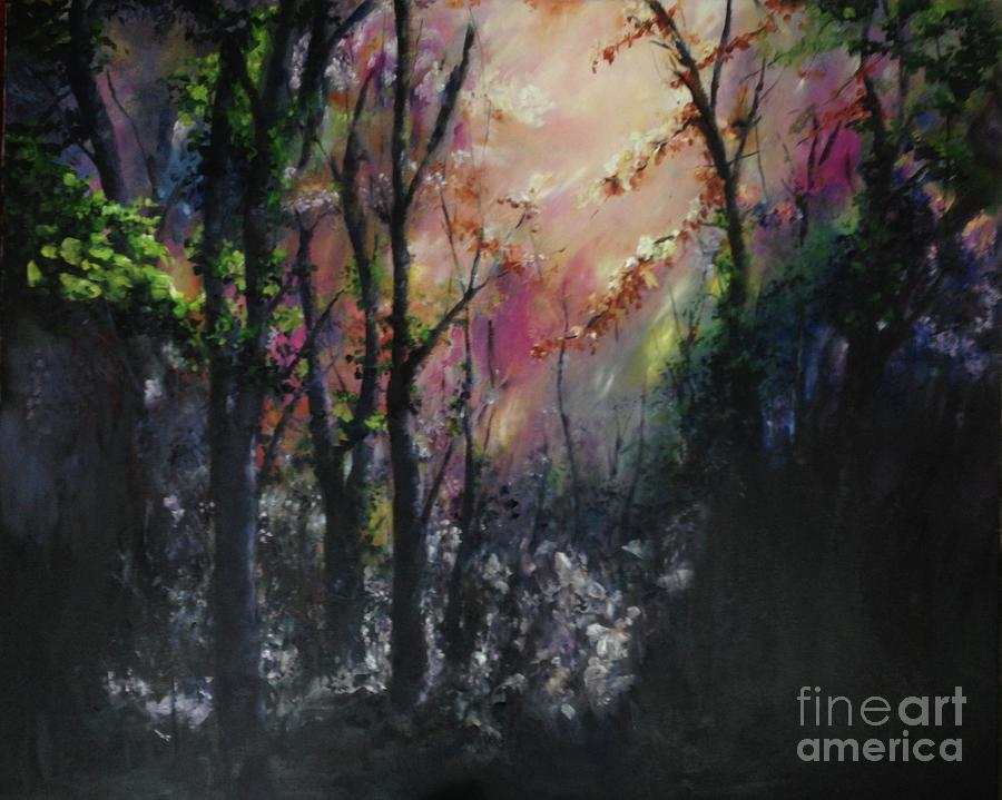 Enchanted Woodlands Painting