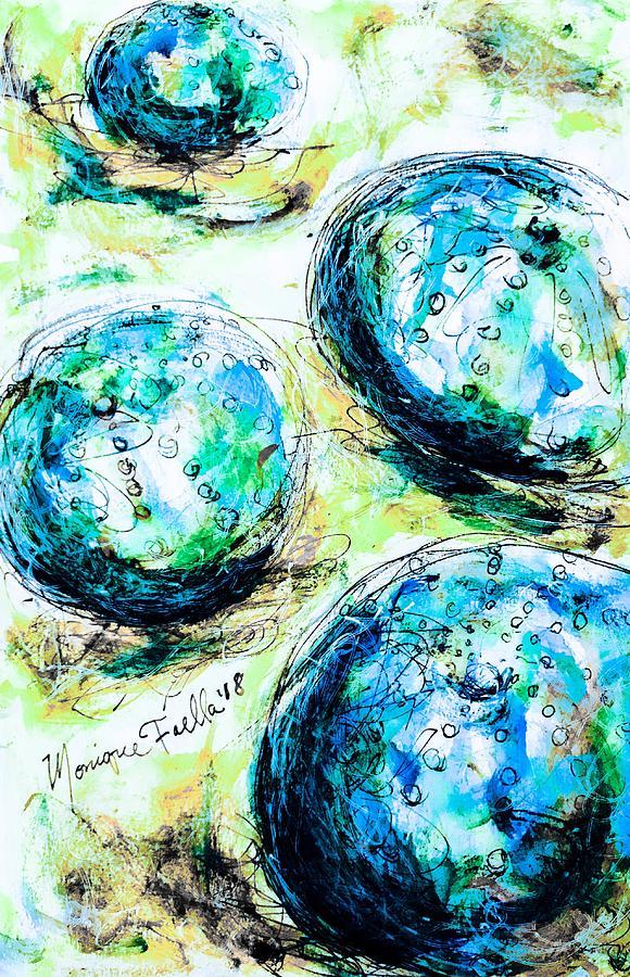 Enchanthing Sea Urchins by Monique Faella