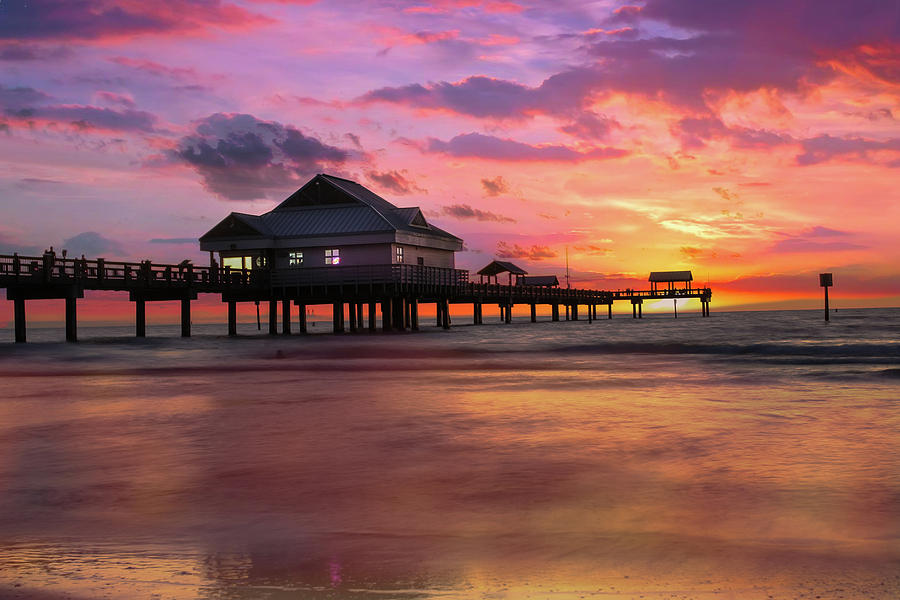 Sunrise Photograph - End Of The Day. by Todd Rogers