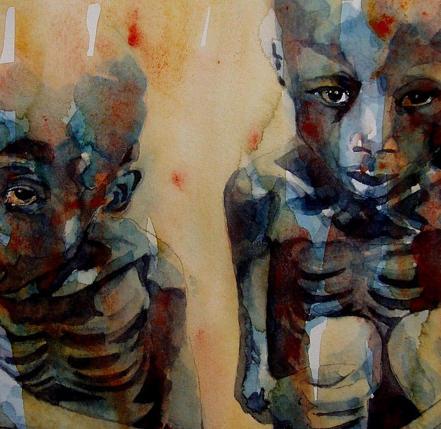 Sudan Painting - Endangered Spieces by Paul Lovering