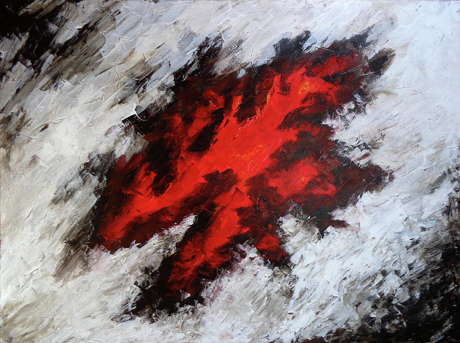 Abstract Painting - Endeavor Abstract Expressionism by Karla Beatty