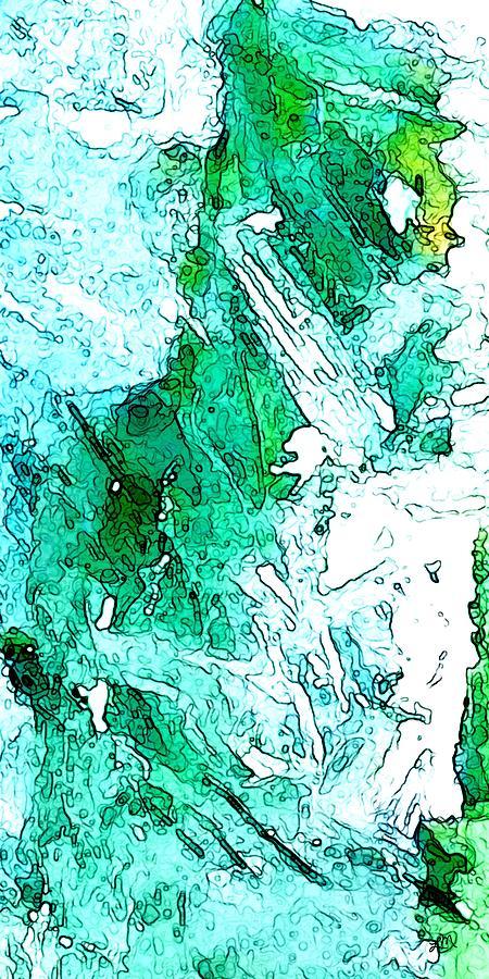 Abstract Digital Art - Endless Beginnings by Linda Mears