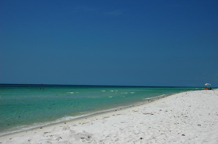 Sand Photograph - Endless Horizon by Susanne Van Hulst