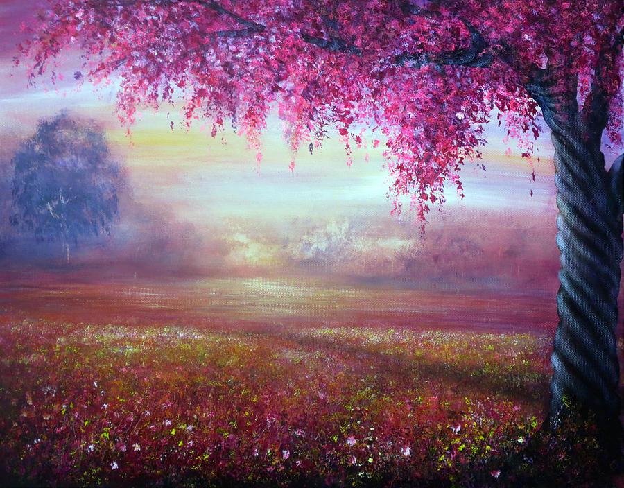 Valentine Painting - Endless Love by Ann Marie Bone
