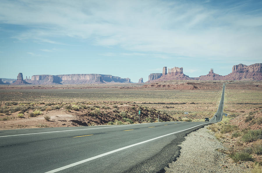 Endless Roads in Monument Valley by Margaret Pitcher