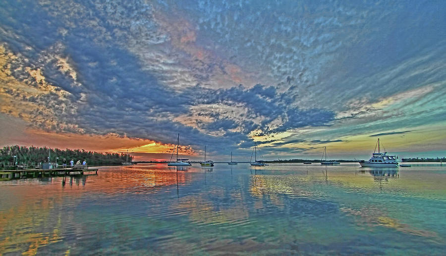 Sunrise Photograph - Endless Sky by HH Photography of Florida