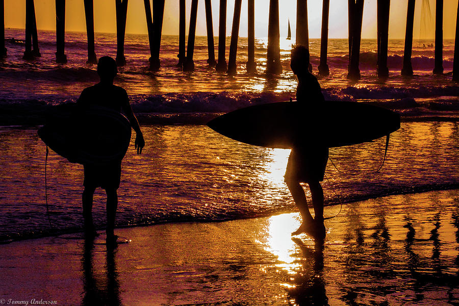 California Photograph - Endless Summer 3 by Tommy Anderson