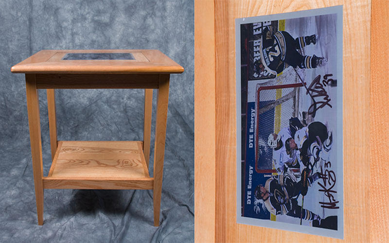 Woodworking Photograph - Endtable by Steven Donley
