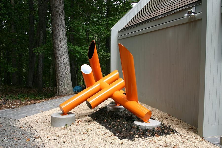 Energie II 2005 Sculpture by Esmoreit Koetsier