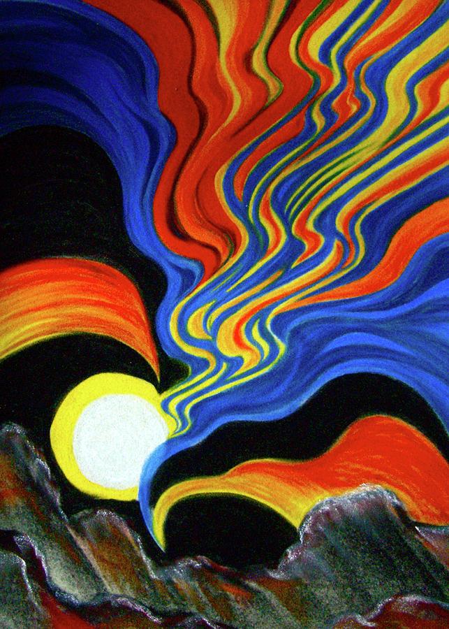 Energy Pastel - Energy in Motion by Pam Ellis