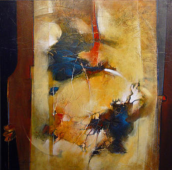Abstract Painting - Energy Of Separation by Dale  Witherow