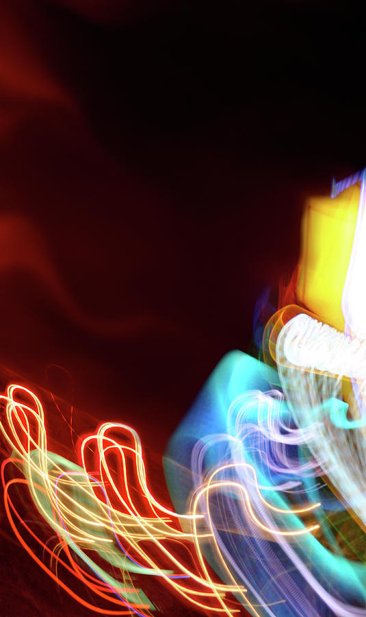 Energy Mixed Media - Energy by Tj Evans