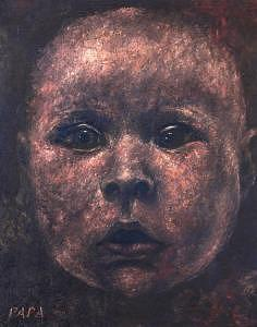 Faces Painting - Enfant by Ralph Papa