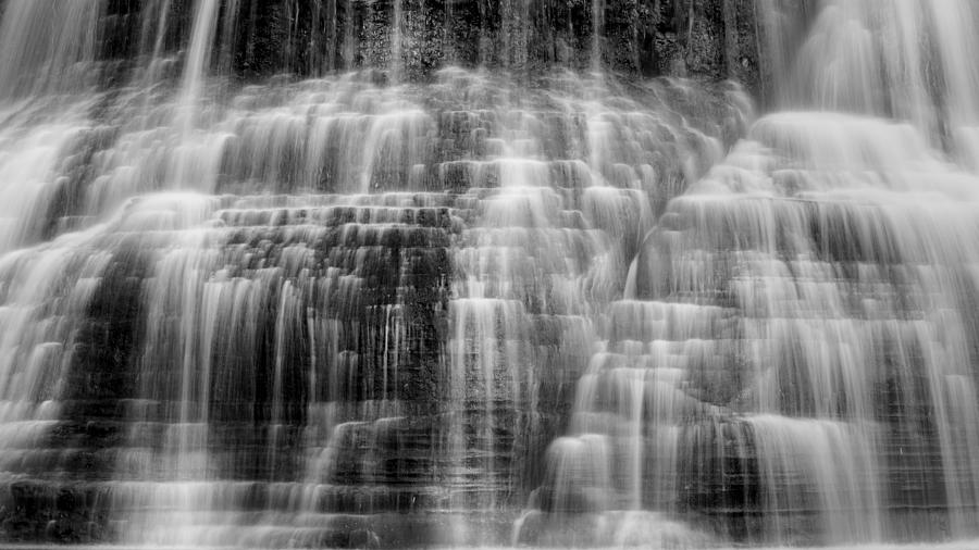 Ithaca Photograph - Lower Falls Cascade #2 by Stephen Stookey